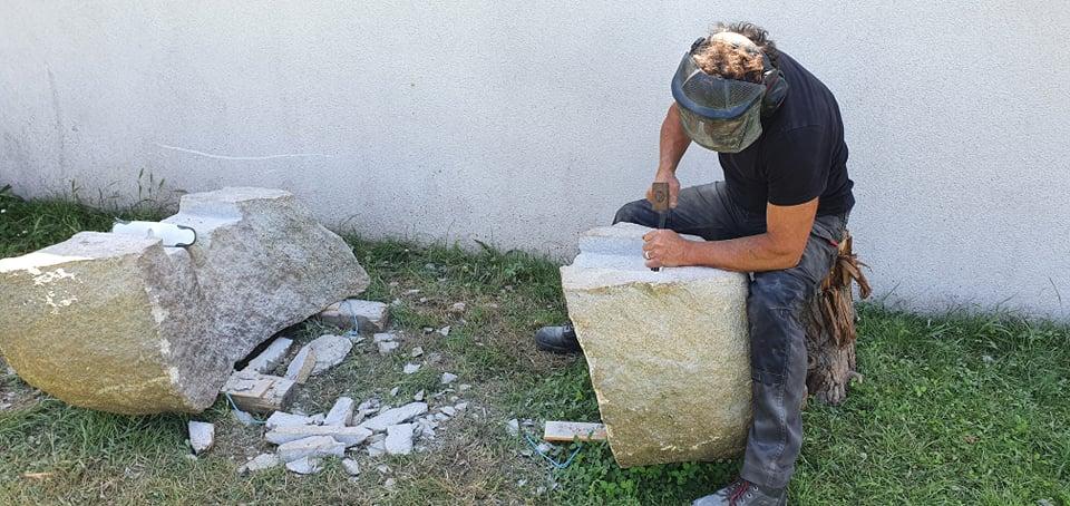 banc de granite du Cap - Pierres et Paysages - Markus Jenny
